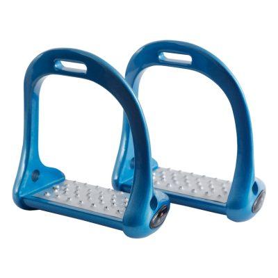Premier Equine  Sport Jopollo Aluminium Performance Stirrups-Blue